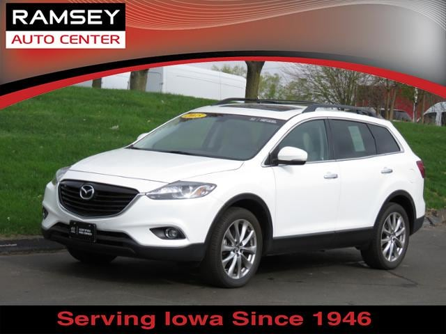 Certified 2015 Mazda Cx 9 Awd Grand Touring For Sale In