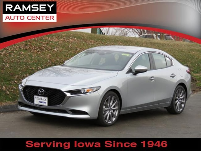New 2019 Mazda Mazda3 Select Package Sedan in Urbandale, IA