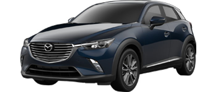 New 2018  Mazda CX-3 All-wheel drive at Steet Ponte Mazda