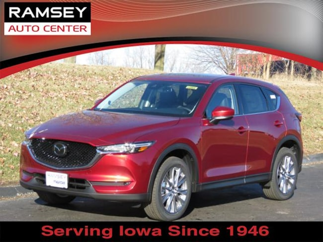 New 2019 Mazda Mazda CX-5 Grand Touring SUV in Urbandale, IA