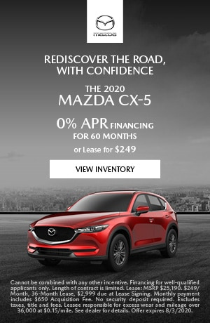 July The 2020 Mazda CX-5 Offer
