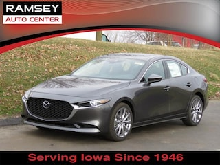 New 2019 Mazda Mazda3 Premium Package Sedan 3MZBPAEM0KM104135 in Urbandale IA