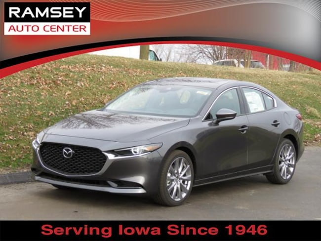 New 2019 Mazda Mazda3 Premium Package Sedan in Urbandale, IA