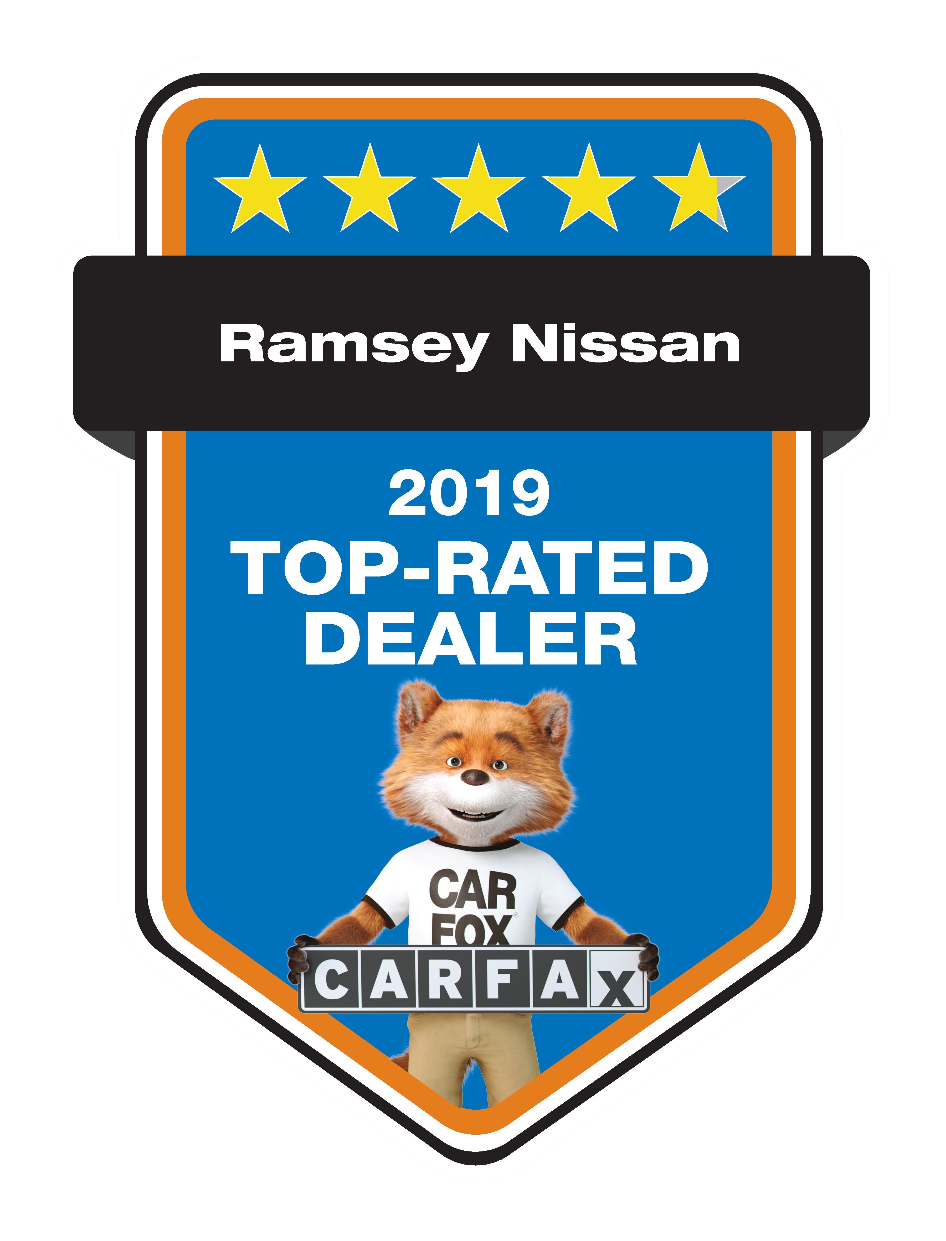 CARFAX 2019 Top Rated Nissan Dealer NJ