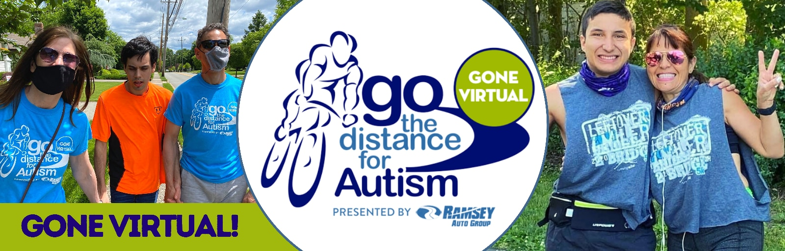 Go the Distance For Autism Bike Ride 2021