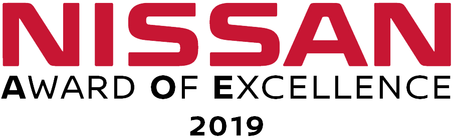 2019 Nissan Award of Excellence