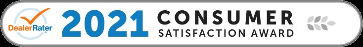 2021 DealerRater Consumer Satisfaction Award