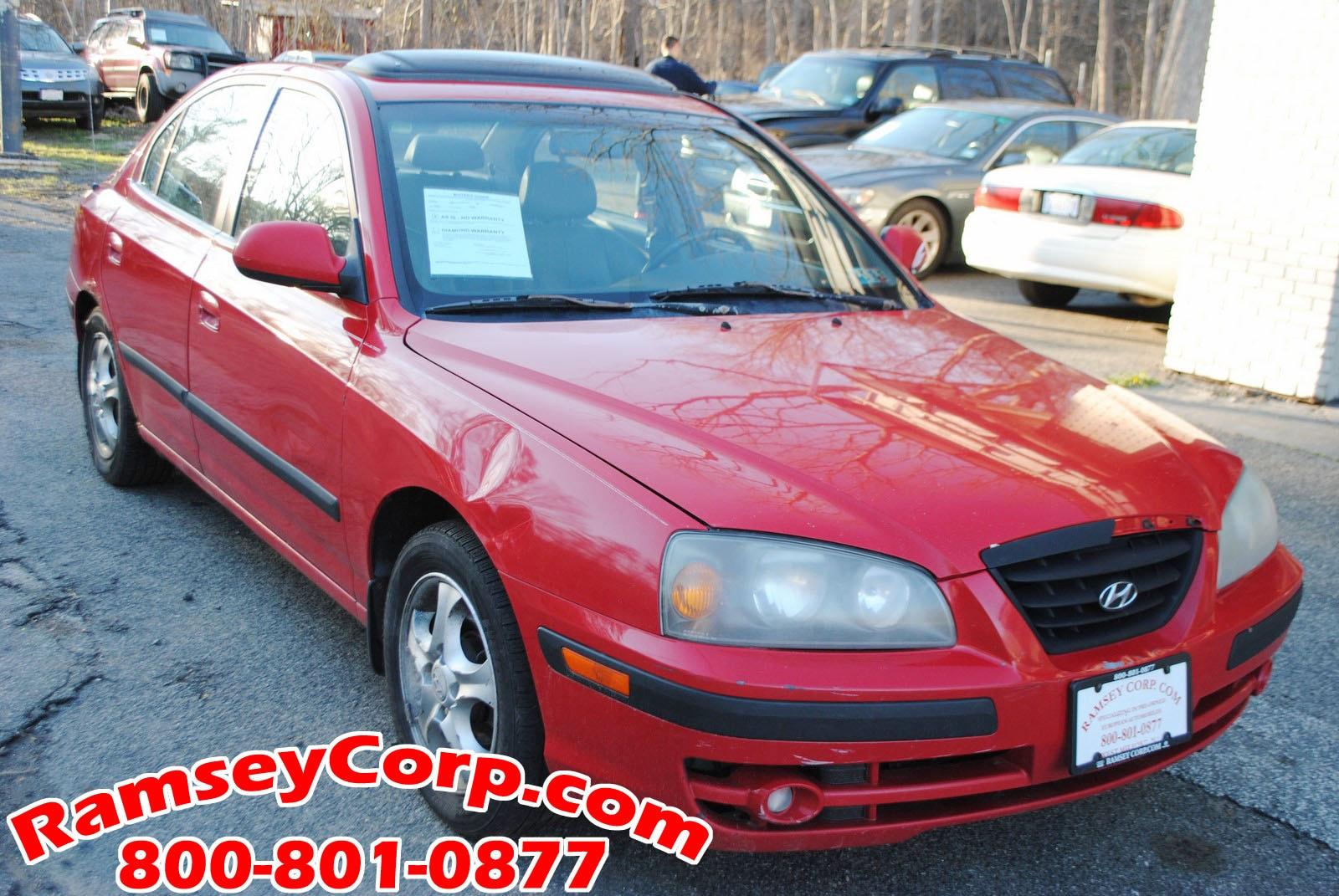... 2005 Hyundai Elantra GLS 2.0 Sedan ...