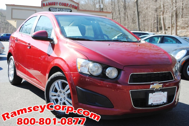 Used 2012 Chevrolet Sonic For Sale West Milford Nj