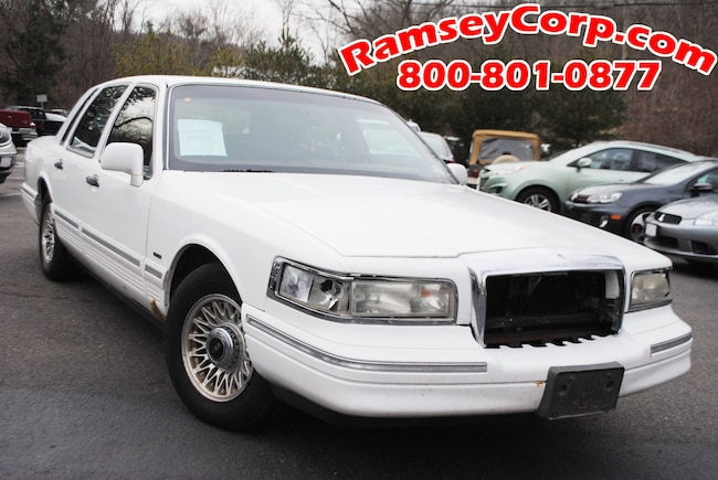 Used 1996 Lincoln Town Car For Sale At Ramsey Corp Vin