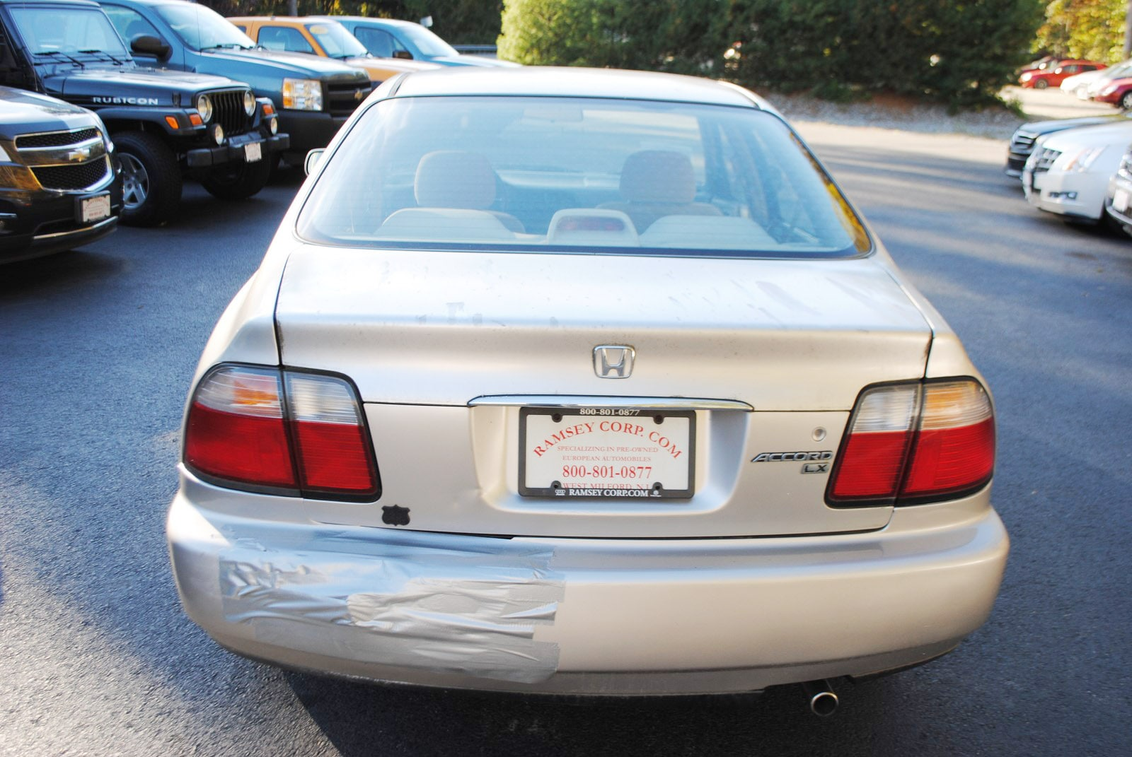 ... 1997 Honda Accord LX 2.2 Sedan ...