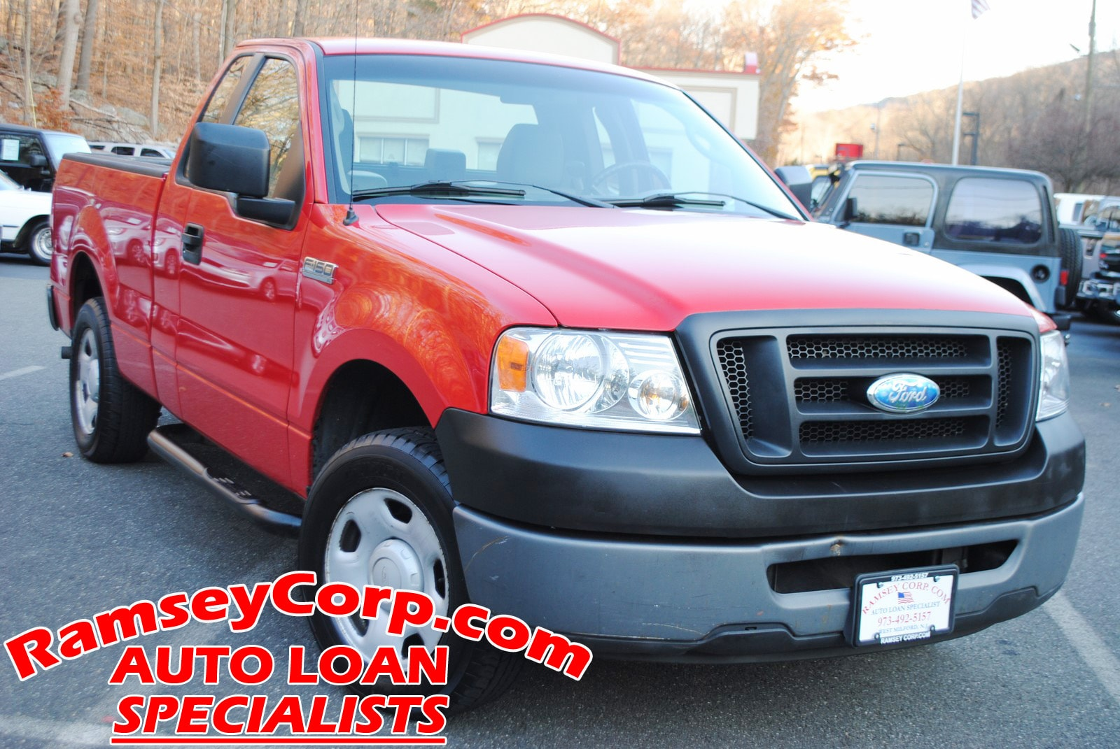 used 2006 ford f 150 for sale at ramsey corp vin 1ftrf12256nb272972006 ford f 150 xl 4 2 truck regular cab