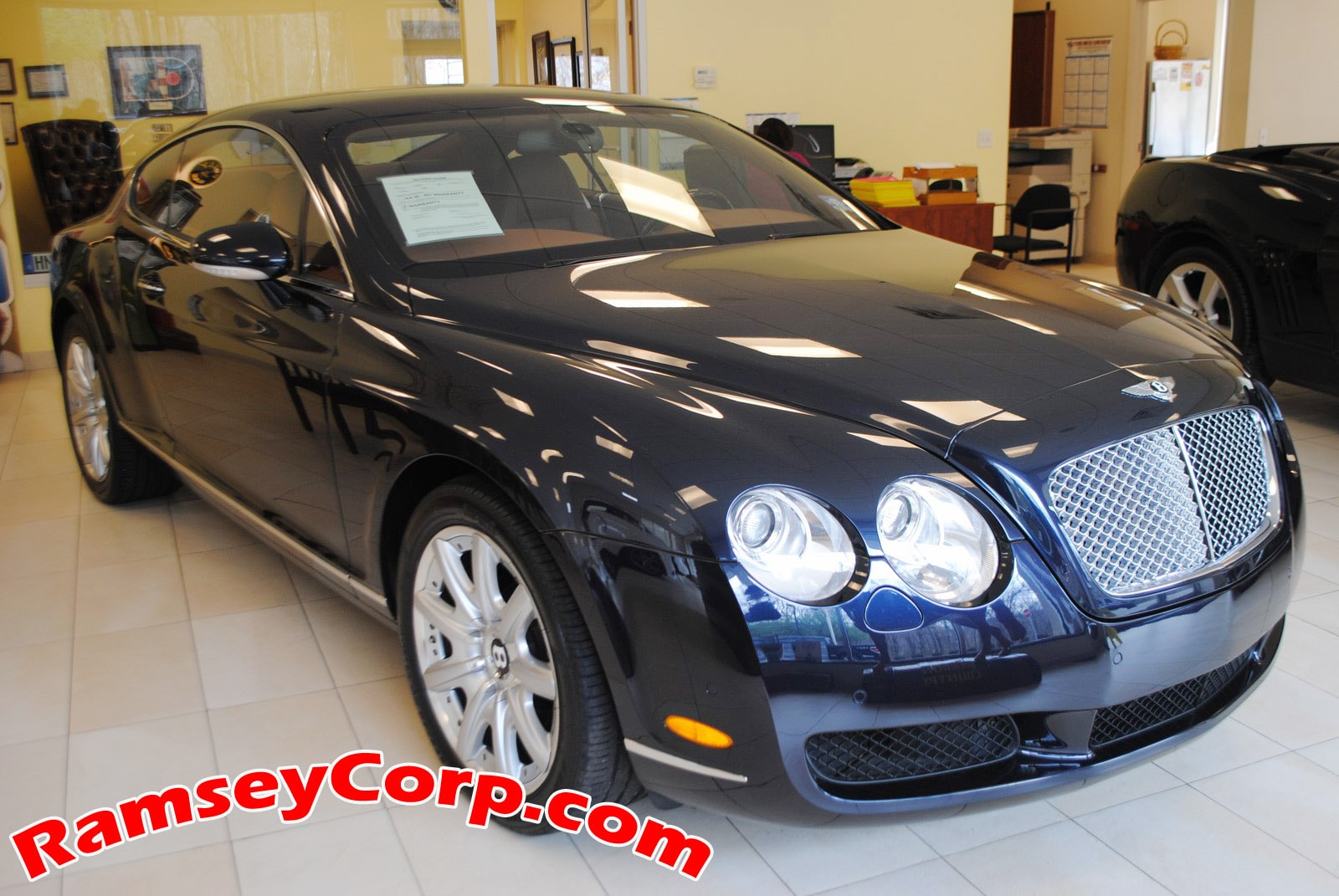2007 Bentley Continental GT 6.0T Coupe