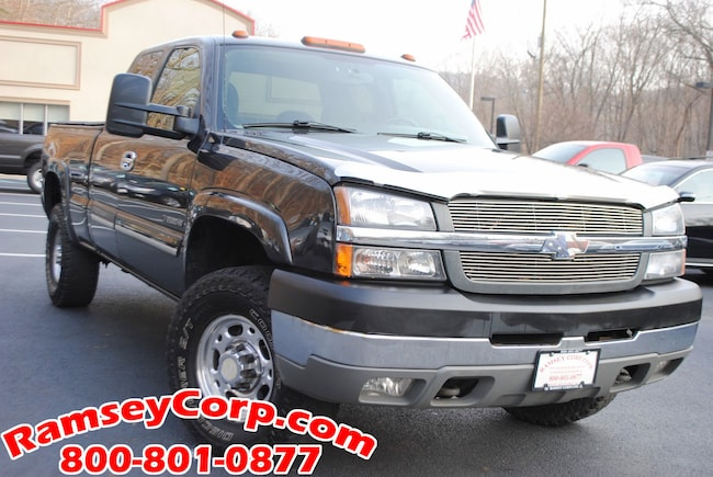 used 2004 chevrolet silverado 2500hd for sale at ramsey. Black Bedroom Furniture Sets. Home Design Ideas