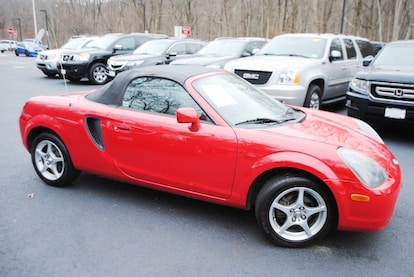 Used 2000 Toyota MR2 Spyder For Sale at Ramsey Corp  | VIN