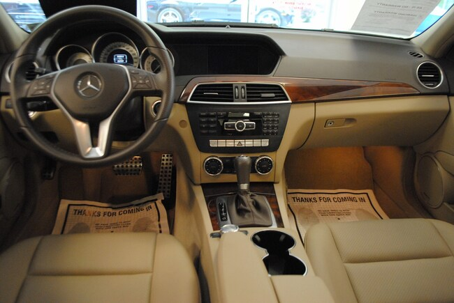 used 2012 mercedes-benz c-class for sale at ramsey corp. | vin