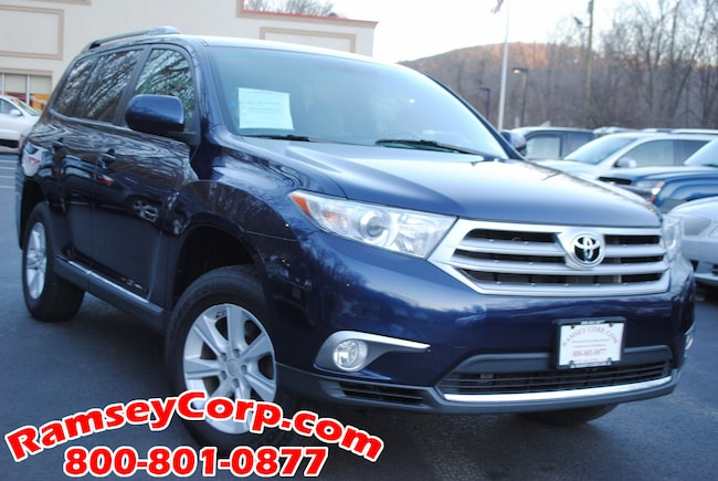 2012 Toyota Highlander For Sale >> Used 2012 Toyota Highlander For Sale At Ramsey Corp Vin