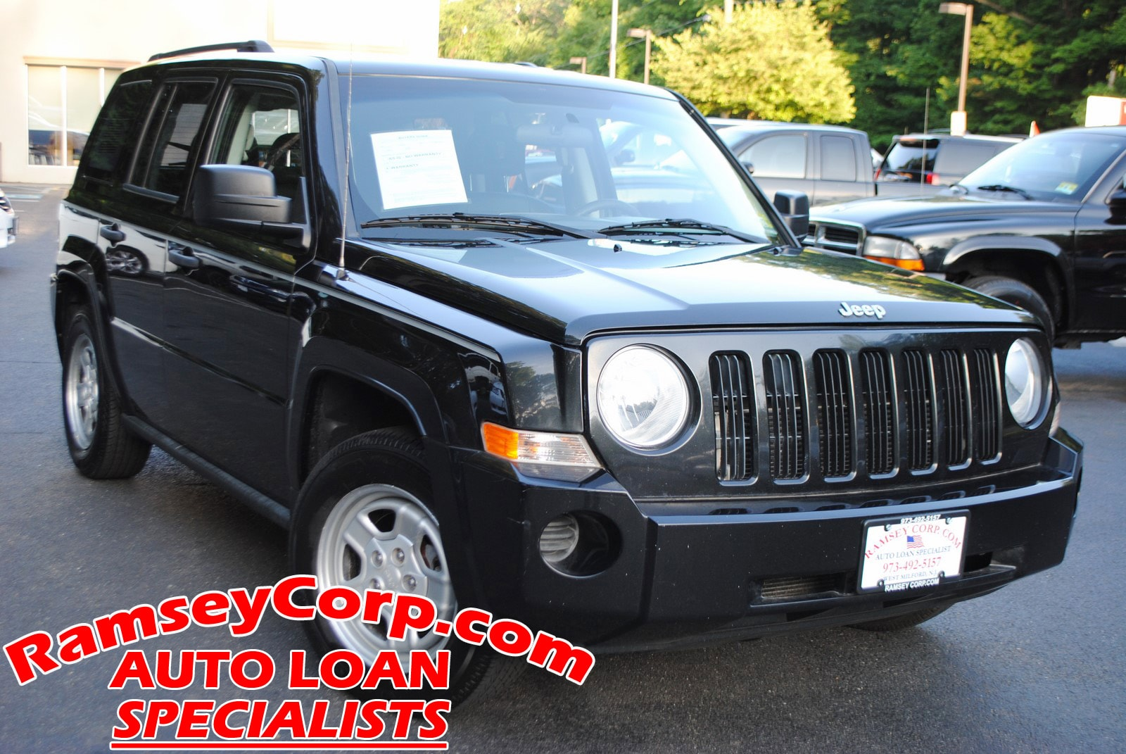Used 2008 Jeep Patriot For Sale at Ramsey Corp  | VIN: 1J8FF28W88D504628