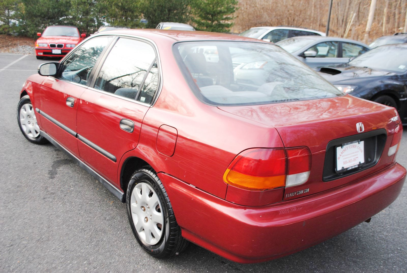 ... 1998 Honda Civic LX 1.6 Sedan ...