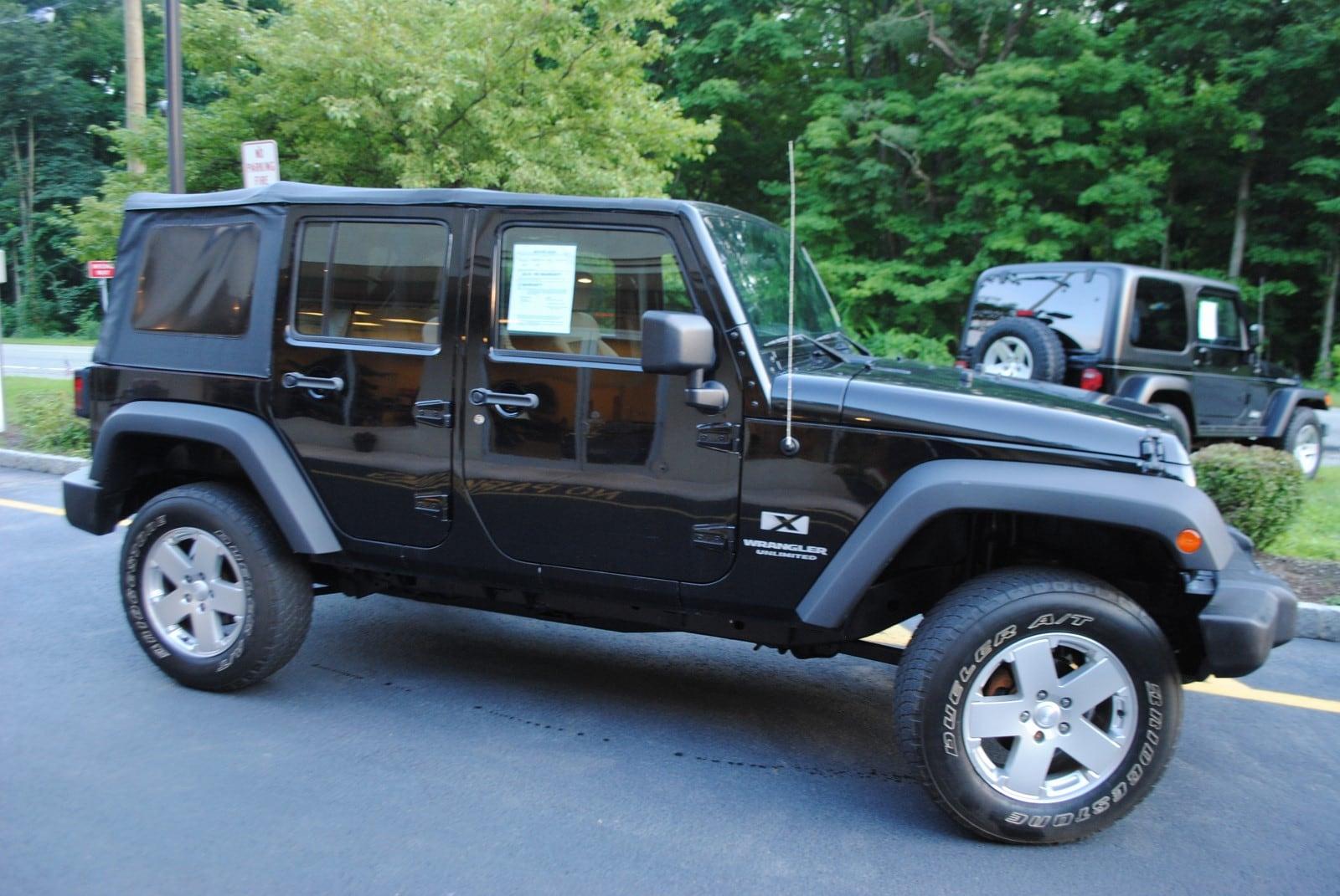 used 2008 jeep wrangler for sale west milford nj. Black Bedroom Furniture Sets. Home Design Ideas