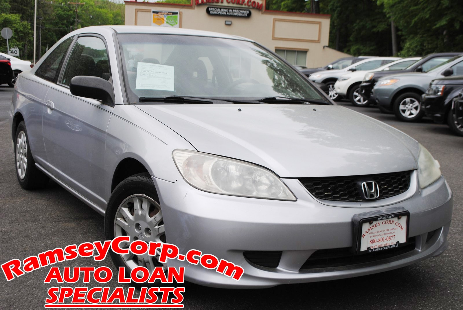 ... 2004 Honda Civic LX 1.7 Coupe ...