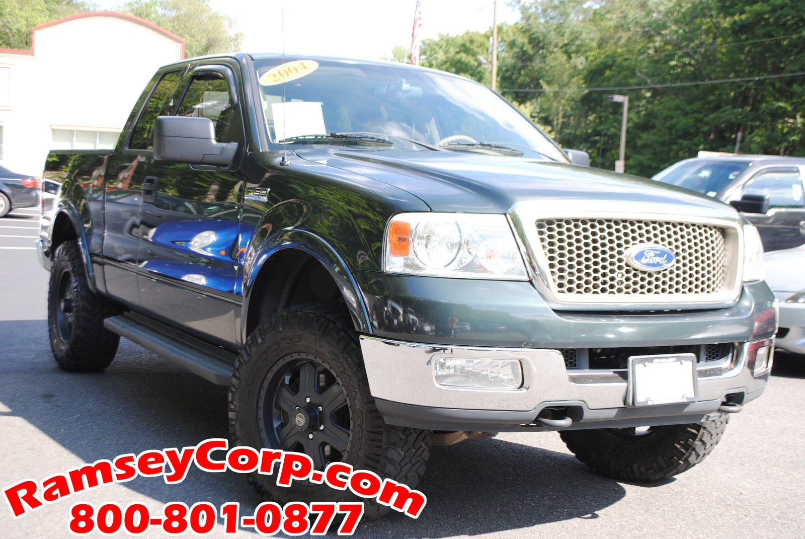 Used 2004 Ford F-150 For Sale at Ramsey Corp  | VIN: 1FTPX14544KB27172