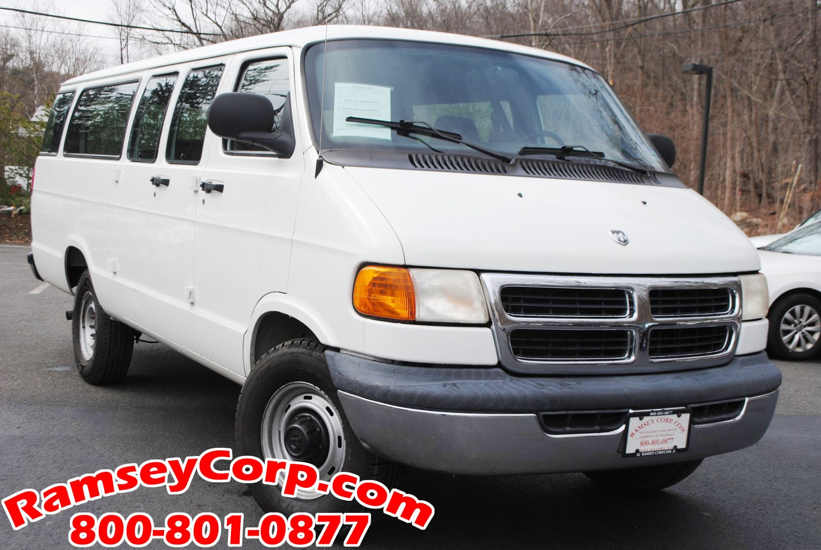 Used 2002 Dodge Ram Wagon 3500 For Sale at Ramsey Corp
