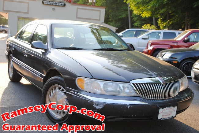 Used 1998 Lincoln Continental For Sale At Ramsey Corp Vin
