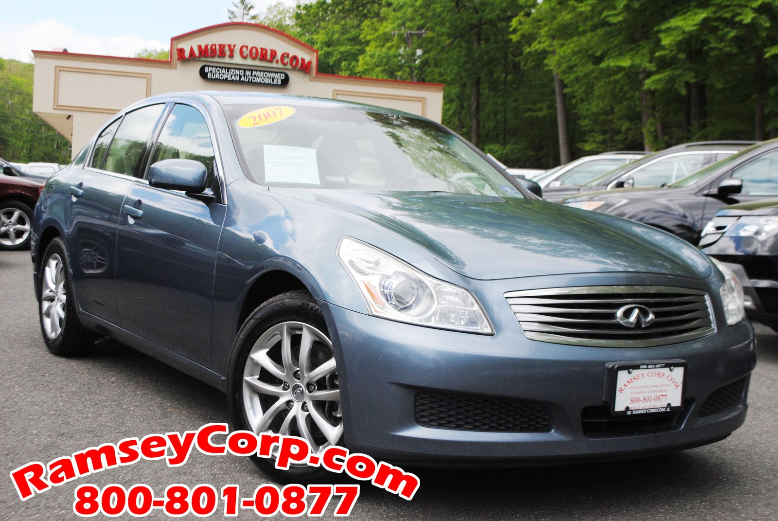 Used 2007 Infiniti G35x For Sale At Ramsey Corp Vin Jnkbv61fx7m802363