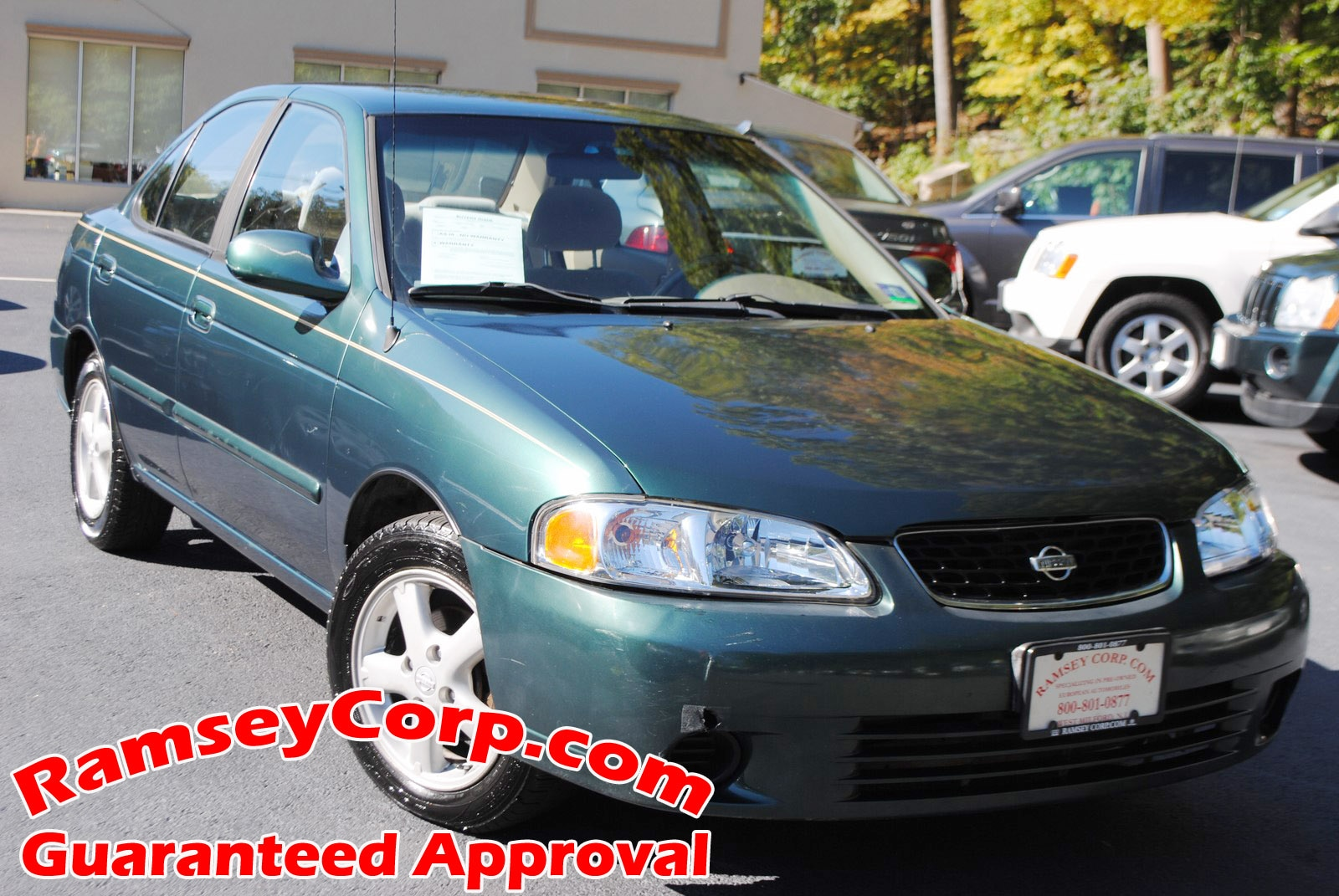 ... 2001 Nissan Sentra GXE 1.8 Sedan ...