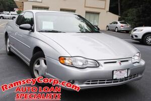 2001 Chevrolet Monte Carlo SS 3.8