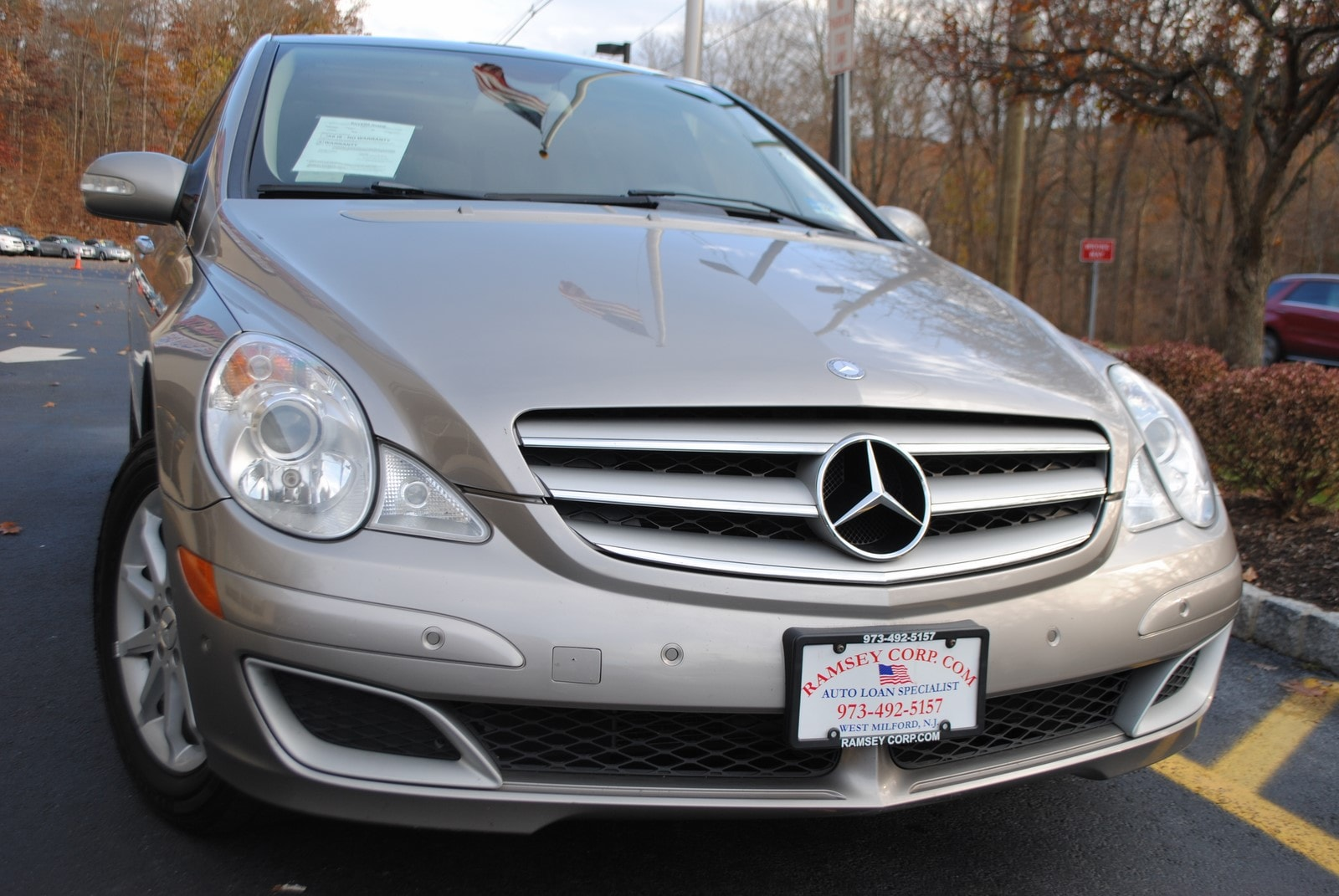 used 2007 mercedes benz r class for sale west milford nj rh ramseycorp com Green 2007 Mercedes R350 2007 R 350 Mercedes with Chrome Rims