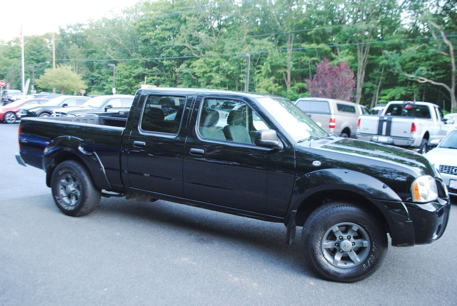 ... 2004 Nissan Frontier XE 3.3 Truck Long Bed Crew Cab ...