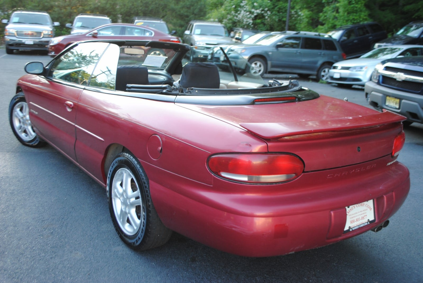 used 1997 chrysler sebring for sale west milford nj. Black Bedroom Furniture Sets. Home Design Ideas