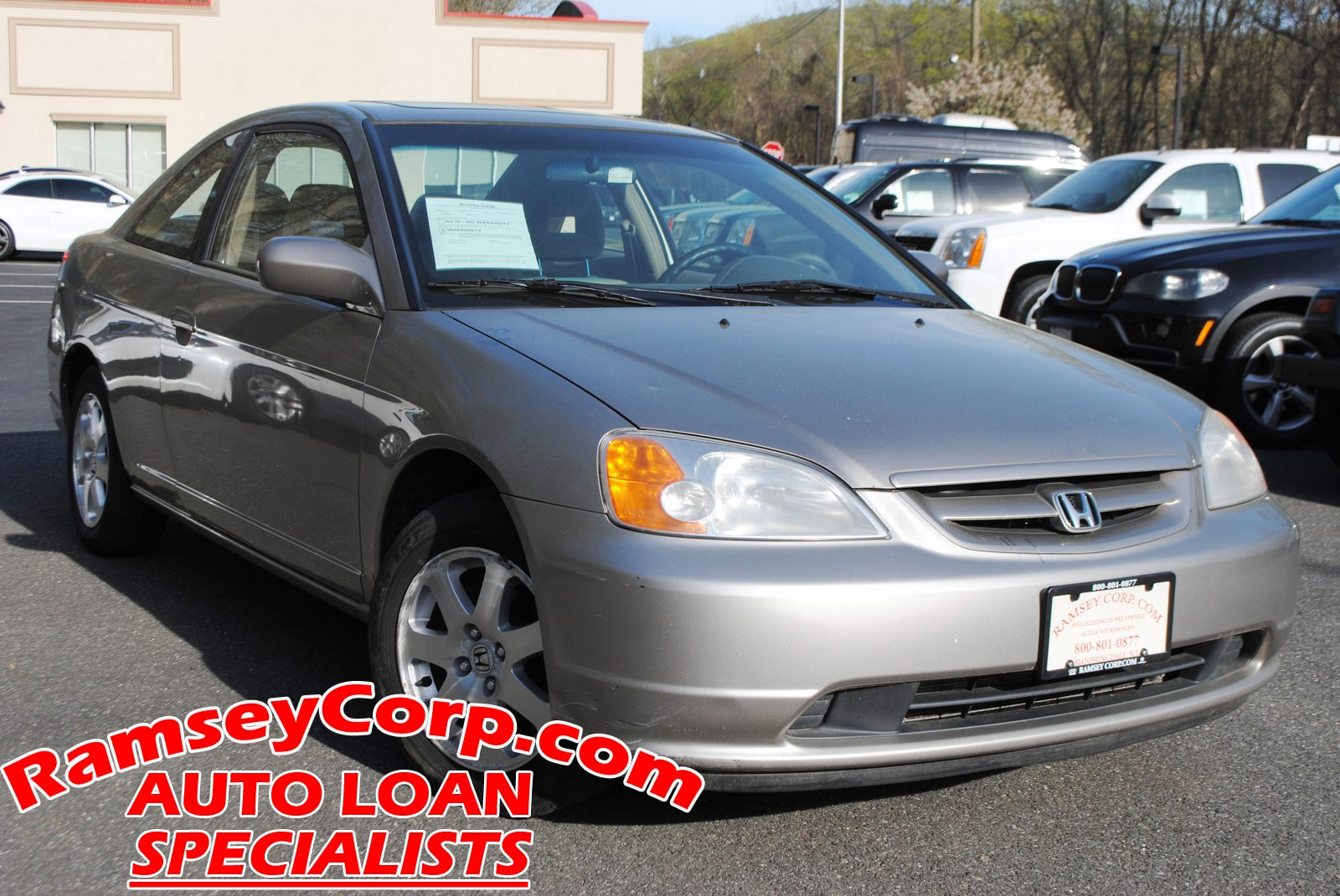... 2003 Honda Civic EX 1.7 Coupe ...