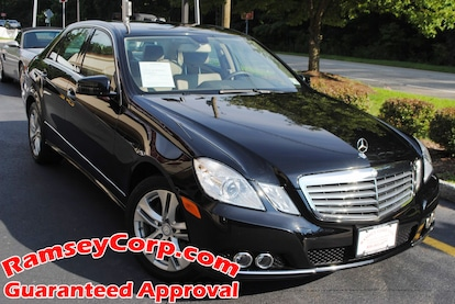 Used 2011 Mercedes-Benz E-Class For Sale at Ramsey Corp