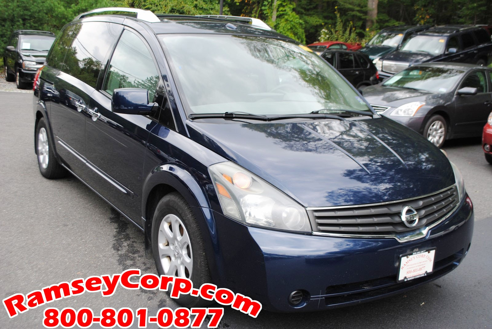Awesome ... 2007 Nissan Quest S 3.5 Van ...