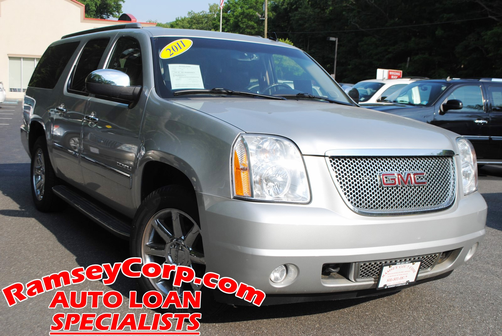 used 2011 gmc yukon xl 1500 for sale west milford nj. Black Bedroom Furniture Sets. Home Design Ideas