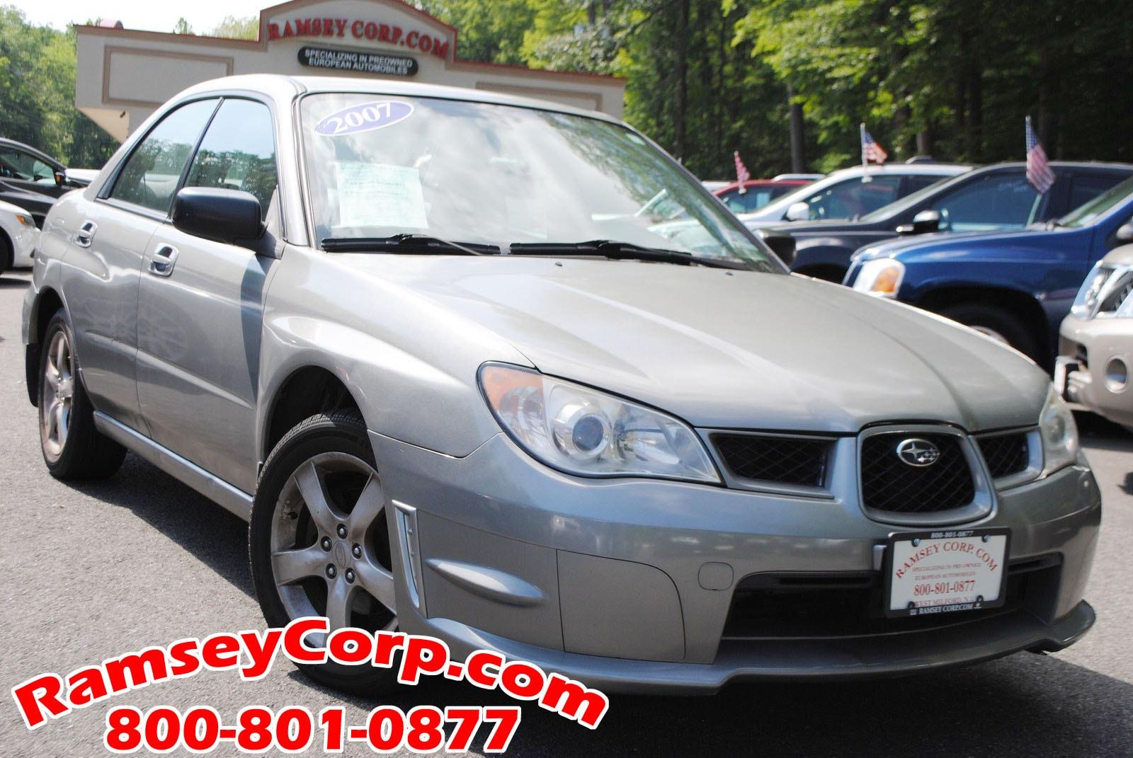 used 2007 subaru impreza for sale west milford nj rh ramseycorp com 2007 Subaru Impreza WRX STI 2007 Subaru Impreza 2.5I Mods