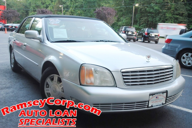 2002 CADILLAC DEVILLE 4.6 Sedan