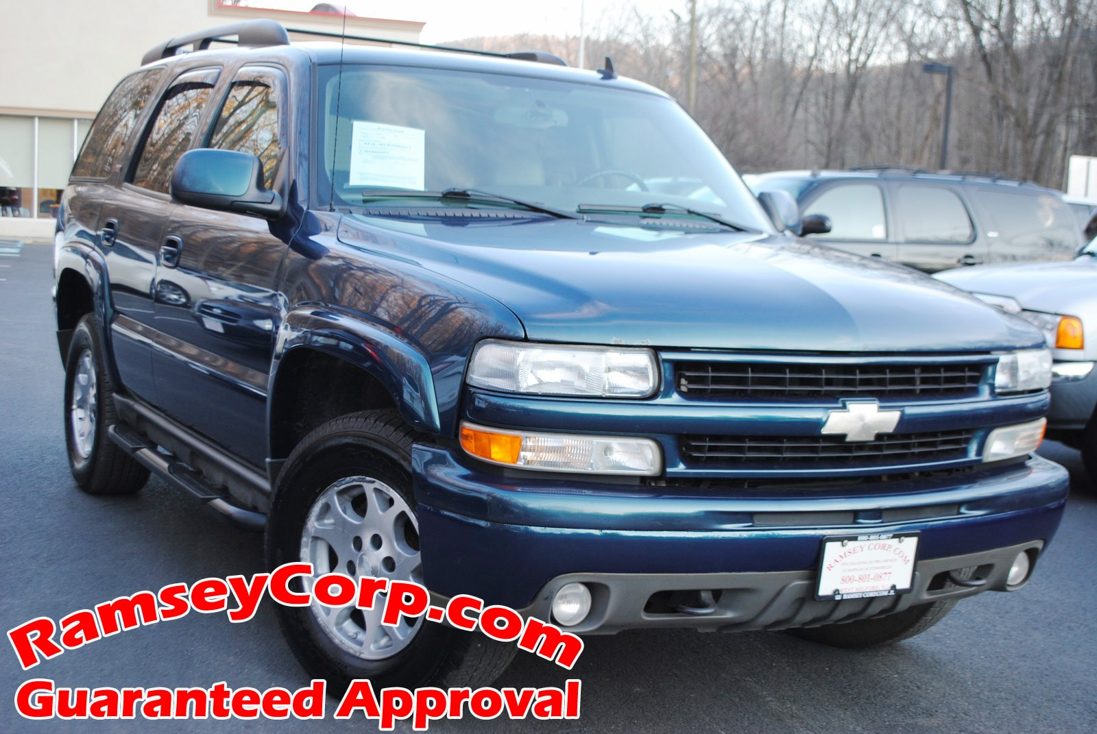 Used 2006 Chevrolet Tahoe For Sale at Ramsey Corp    VIN: 1GNEK13Z86R129695