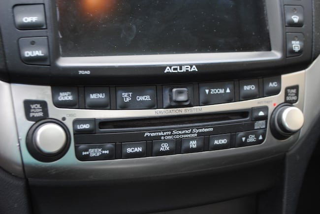 2004 acura tsx navigation not working