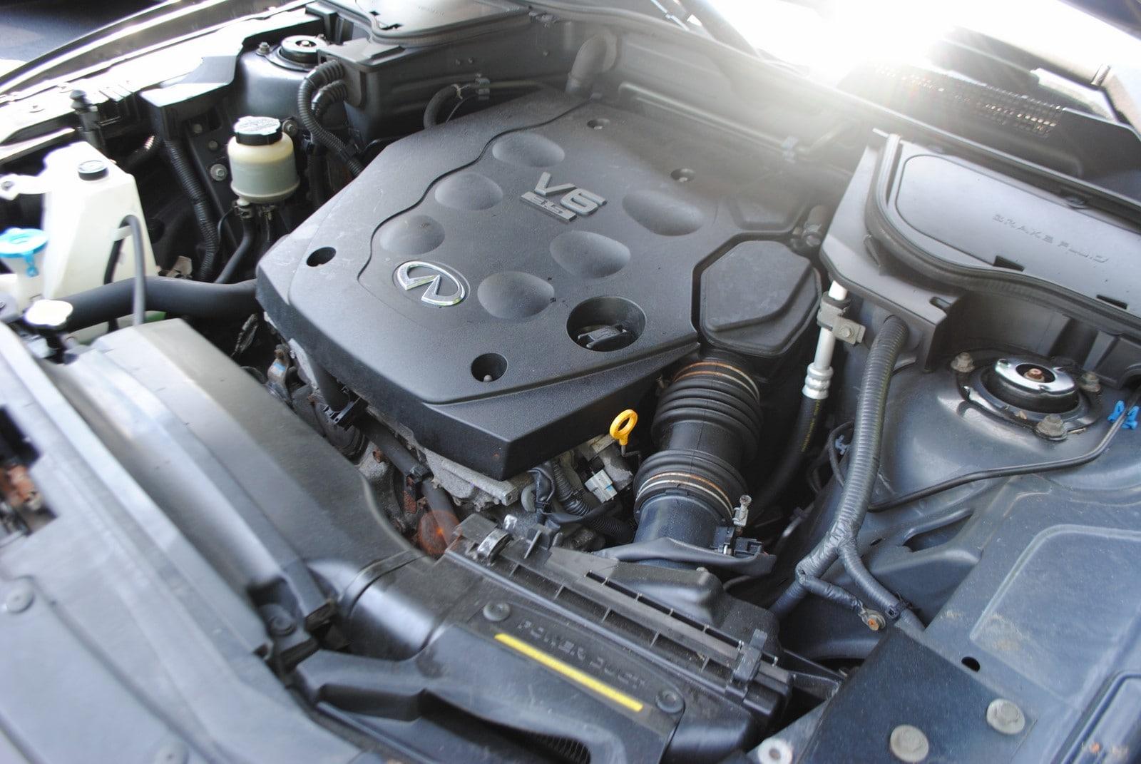 2004 infiniti fx35 horsepower