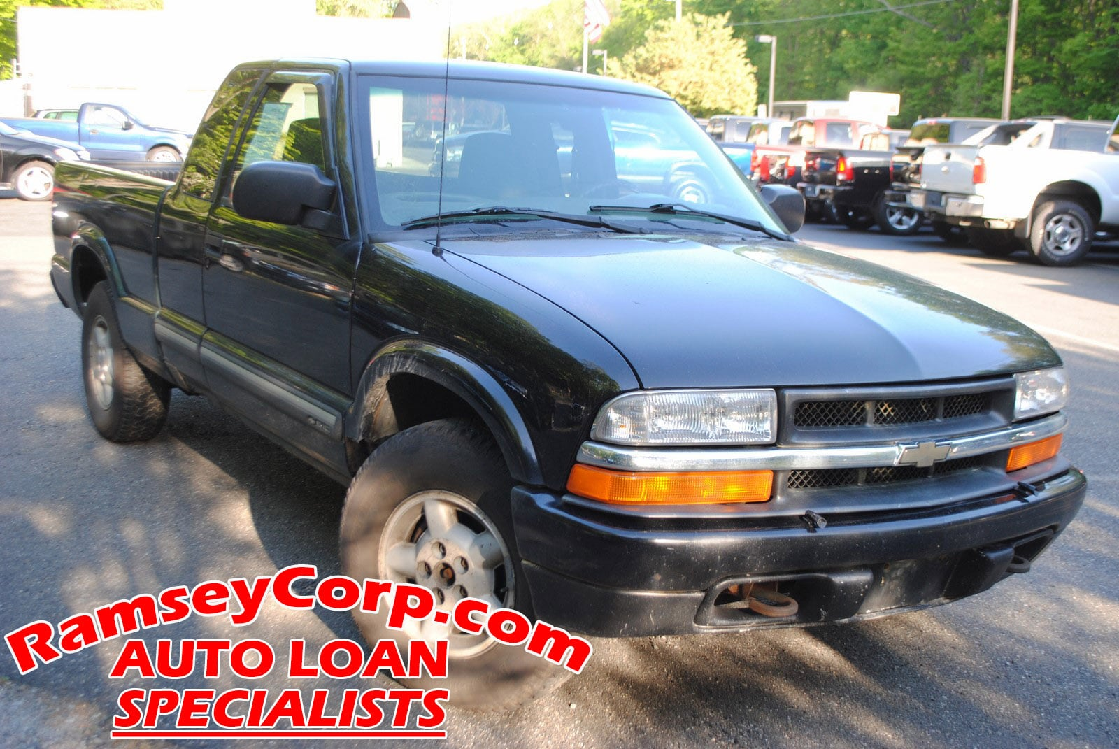 2001 Chevrolet S-10 LS 4.3 Truck Extended Cab