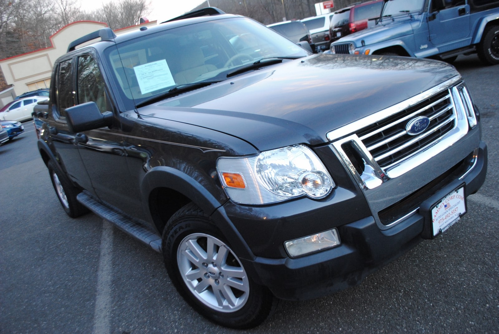 Used 2007 Ford Explorer Sport Trac For Sale at Ramsey Corp