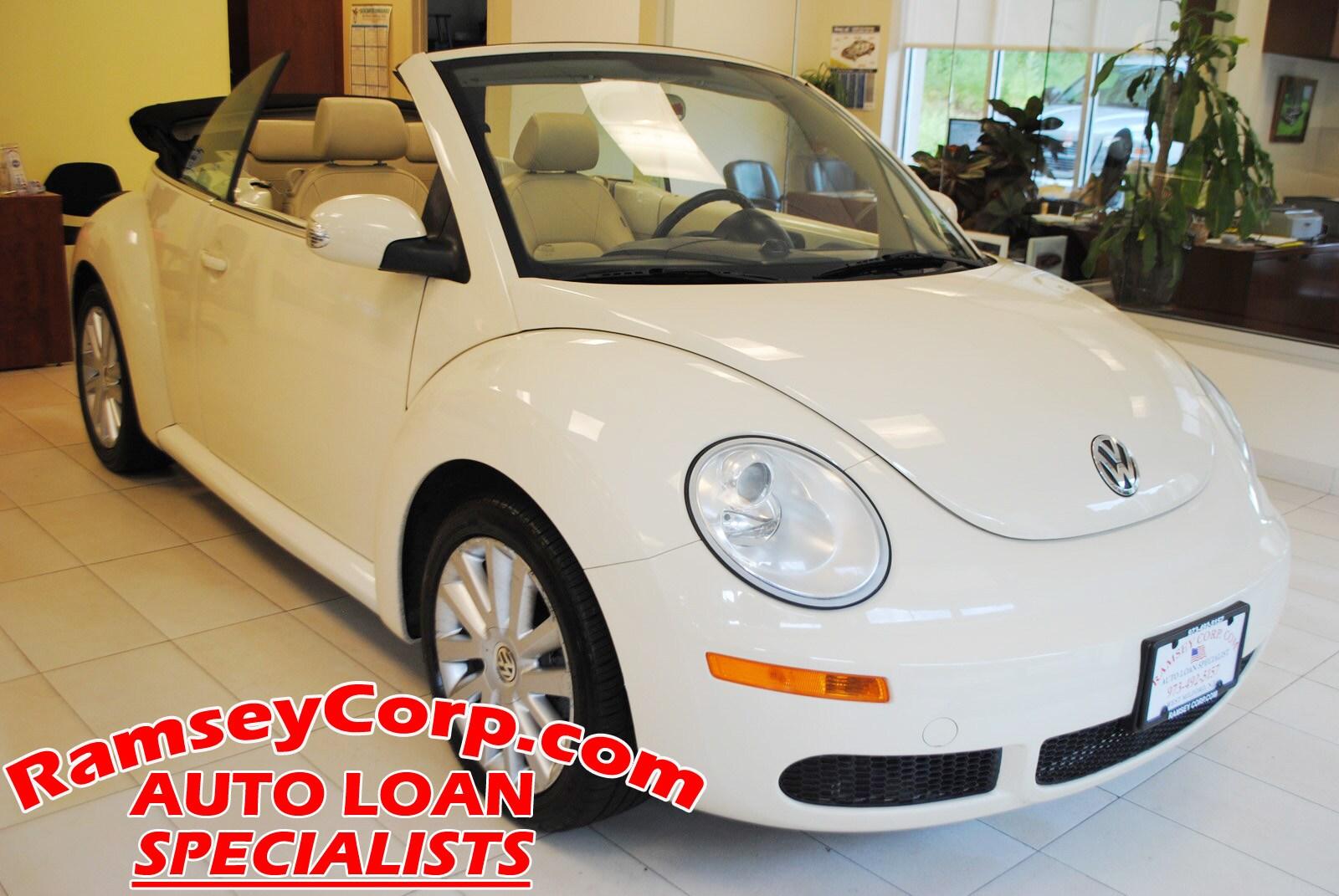 2008 Volkswagen New Beetle SE 2.5 Convertible