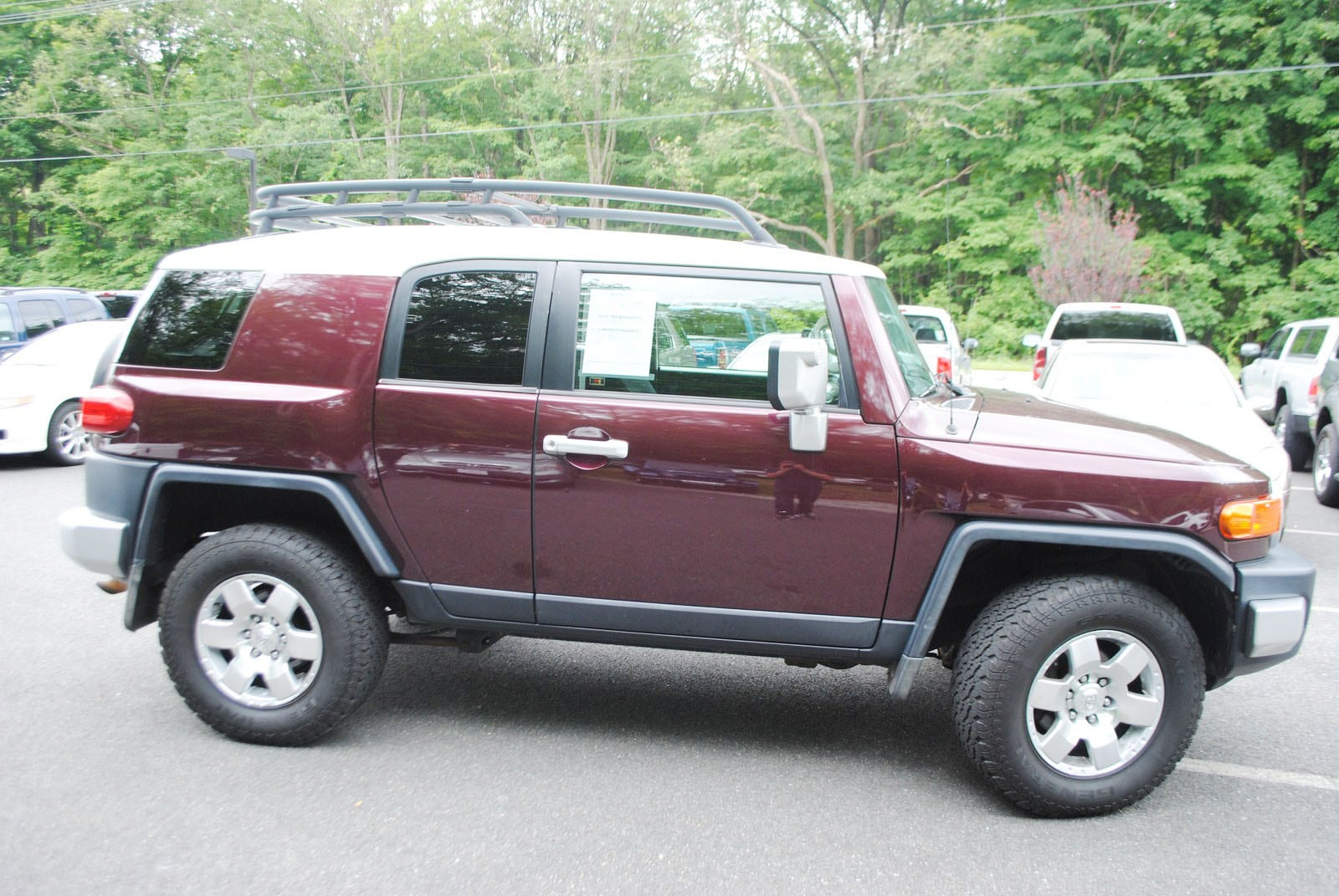 used 2007 toyota fj cruiser for sale west milford nj. Black Bedroom Furniture Sets. Home Design Ideas