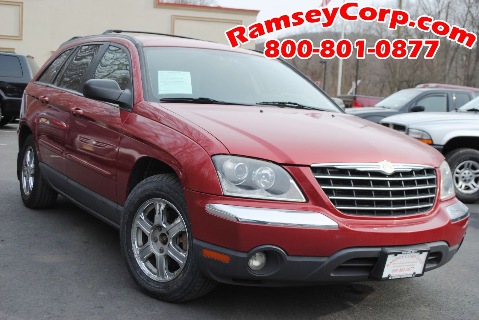Used 2004 Chrysler Pacifica For Sale at Ramsey Corp. | VIN:  2C8GF68454R294139