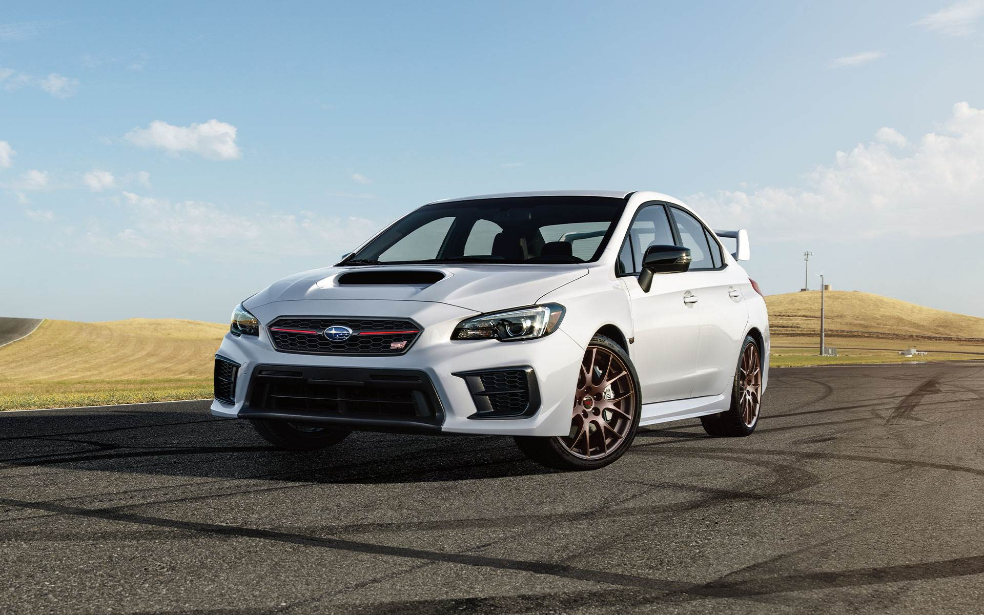 2020 Subaru WRX STI Series White NJ