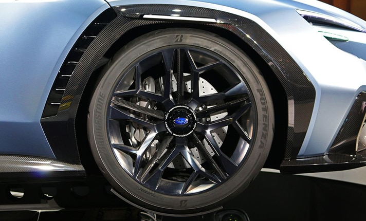 Subaru VIZIV Performance Concept Wheels
